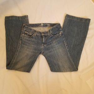 7 For All Mankind Dojo Flare Trouser